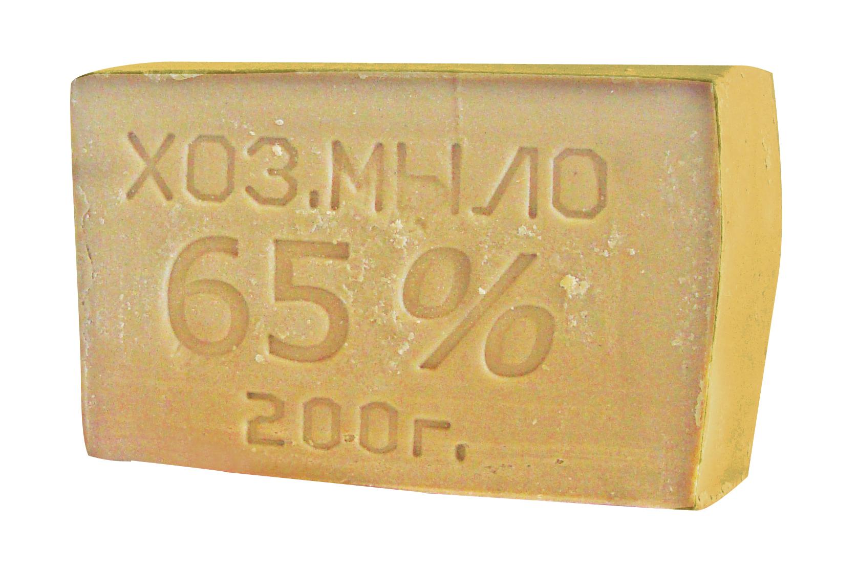 Хозяйственное мыло 65% 200 гр.