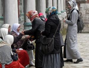 Рынок для женщин / Only women market turkey