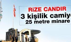 В турецком городе Ризе построили самую маленькую мечеть