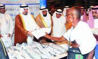 Прилетевших в Джидду хаджиев встретил принц с подарками