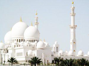 мечеть белая фото