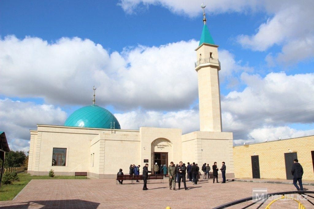 Новая мечеть в Павлодаре