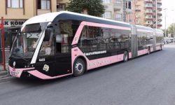 В Турции появились троллейбусы только для женщин