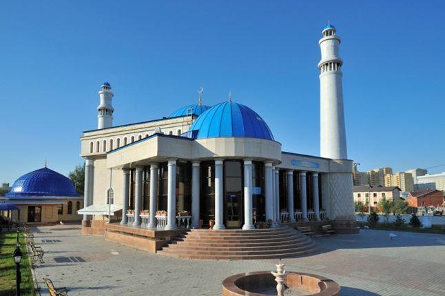 Мечеть в районе Чубары в городе Астана - Masjid Chubary in Astana city