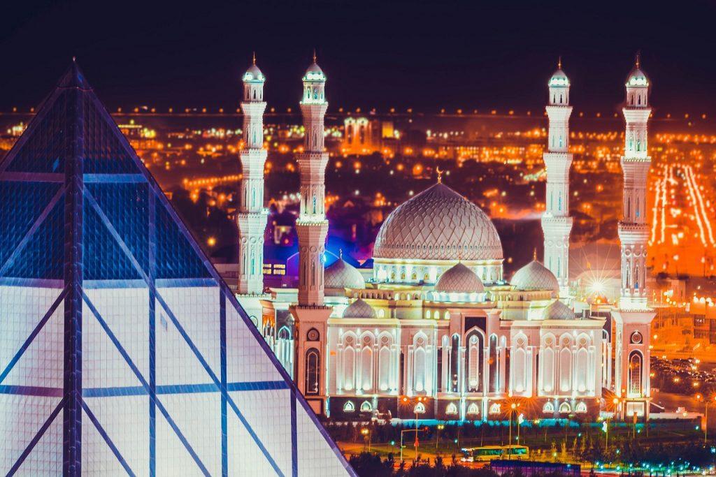Мечеть Хазрет Сұлтан в г. Астана - Mosque Hazrat Sultan