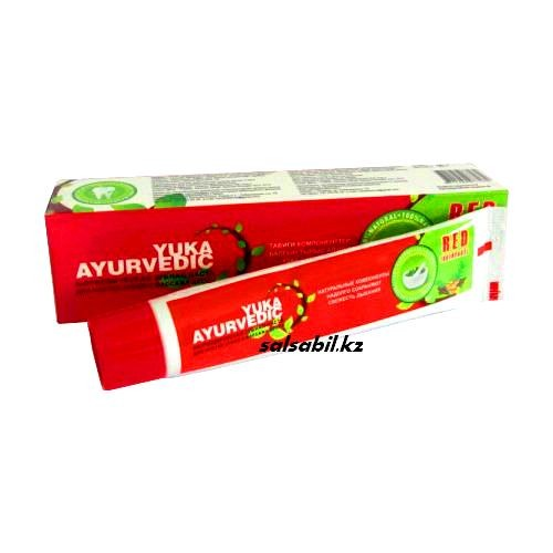 Аюрведическая зубная паста Yuka Ayurvedic ФОТО