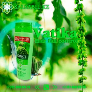 Шампунь Vatika кактус, чеснок, жир жир 400 мл