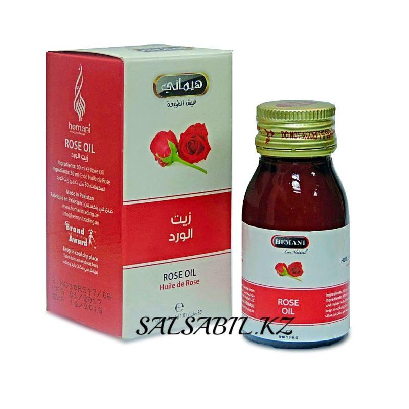 ФОТО масло розы Хемани, Rose oil Hemani 30ml