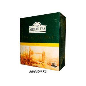 Чай Ахмад пакетированный 100 пакетиков
