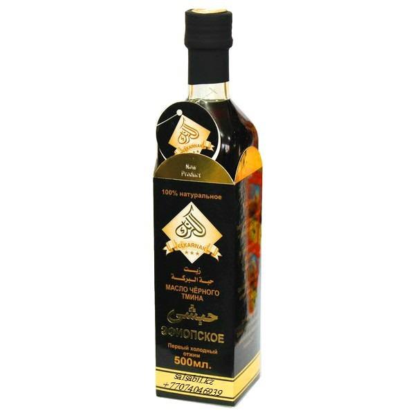 Масло черного тмина Эфиопское 0.5L El Karnak, Эфиопиялық қара зере майы