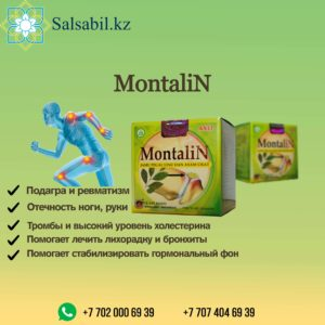 монталин montalin ФОТО, монталин қазақша