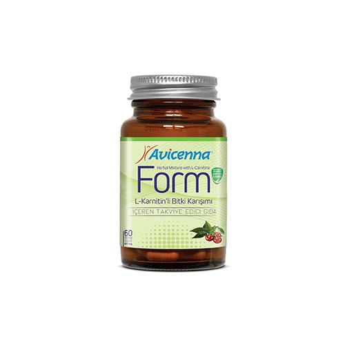 Капсулы Авиценна Форм(Avicenna Form L-karnitin'li bitki karışımı) ФОТО
