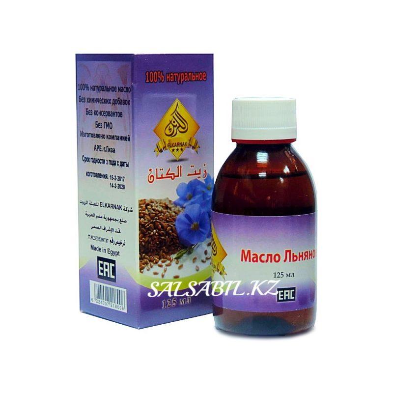 ФОТО Льняное масло El Karnak, 125мл
