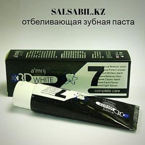 Отбеливающая зубная паста Charcoal-Charcoal amrij тісті ағарту