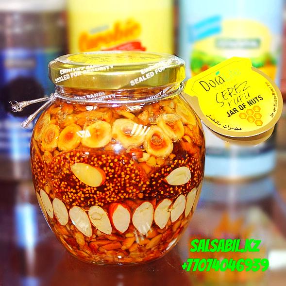 турецкие орехи в меду dora life