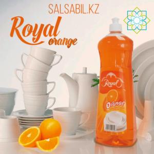 Средство для мытья посуды Royal orange