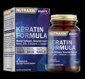 Витамин кератин для волос Nutraxin