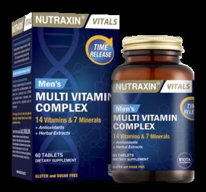 Мультивитамин для мужчин Nutraxin