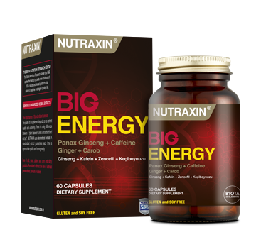 капсулы Nutraxin Big Energy