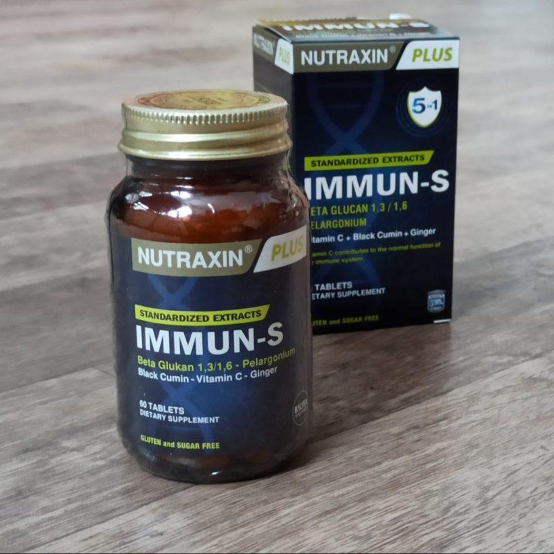 витамины для иммунитета Нутраксин иммун С