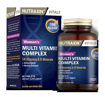 Витамины для женщин Nutraxin womens Multivitamin complex