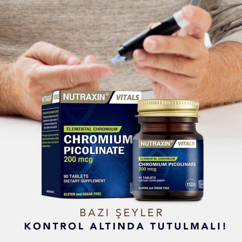 Пиколинат хрома Picolinate chromium nutraxin